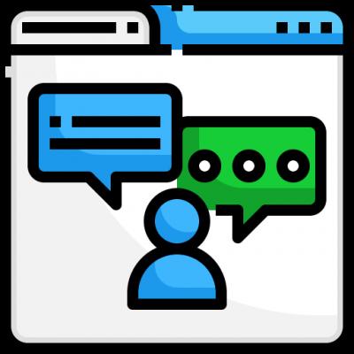 Social Media Webspinner