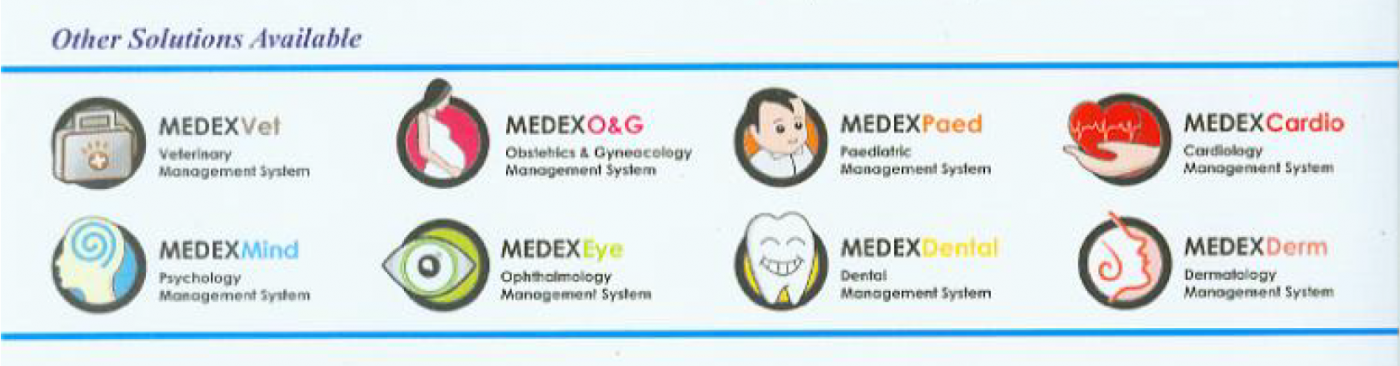 Medexone Clinisys Clinic Software Variants